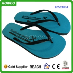 Cheap Simple men rubber flip flops