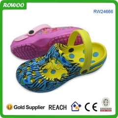 Printed cheap garden plastic shoes