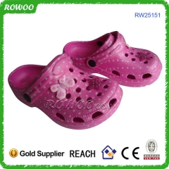 Pink girls eva foam clog