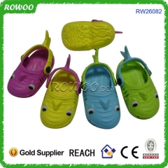 China Manufacturer Baby Shoes EVA Fish Clogs