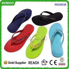 Summer Beach Colorful PVC Slippers And Sandals