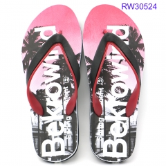 men comfortable rubber flipflops